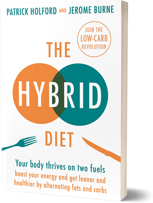 NEW BOOK: The Hybrid Diet | Jerome Burne & Patrick Holford